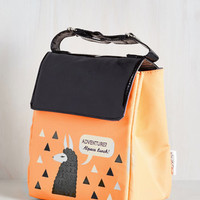 Alpaca a Punch Lunch Bag by ModCloth