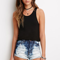 Mineral Wash Cutoffs