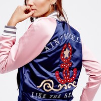 Free People Ain't Nothing Bomber
