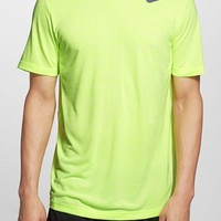 Men's Nike Dri-FIT Touch Heathered Short Sleeve T-Shirt,