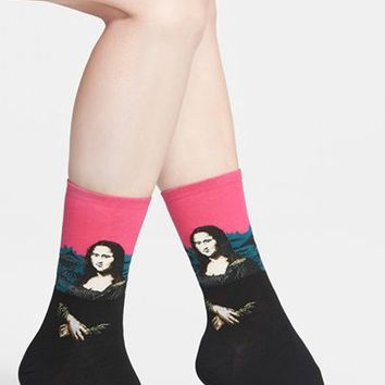 Women's Hot Sox 'Mona Lisa' Socks