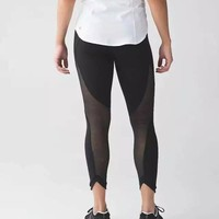 Lululemon Fashion Sport Gym Yoga Tight Pants Trousers Sweatpants-4