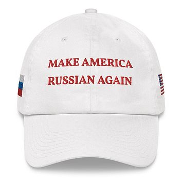 Official Make America Russian Again Hat - White
