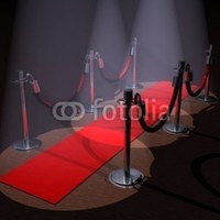 "Red Carpet - 18""W x 14""H - Peel and Stick Wall Decal by Wallmonkeys:Amazon:Home & Kitchen"