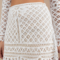 Good To You Lace Skirt