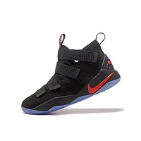 Nike LeBron Soldier 11 Bred Men Basketball Sneakers Sports Shoes