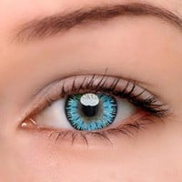 EyeDream® Eye Circle Lens Mystery Blue Colored Contact Lenses
