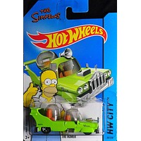 Hot Wheels The Simpsons The Homer NIB NIP HW City New in Package 2015 89/250