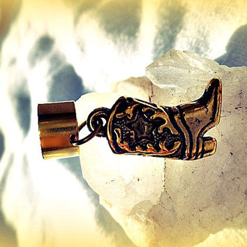 Cowboy Boot Ear Cuff, Country Western, Concerts,Cowgirl, Country Girl, Western Jewelry,  Country Ear Cuff,   Ready to Ship, Direct Checkout