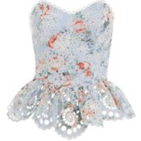 Zimmermann - Multicolor Bowie Strapless Bodice - Lyst