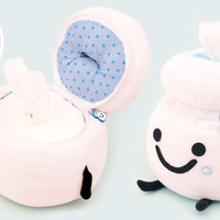 Buy Uha Puccho Milk Bottle Plush Tissue Case at Tofu Cute