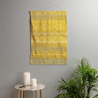 Heather Dutton Grand Bazaar Goldenrod Wall Hanging Portrait