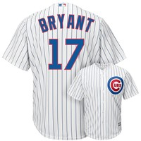Majestic Chicago Cubs Kris Bryant Cool Base Replica MLB Jersey