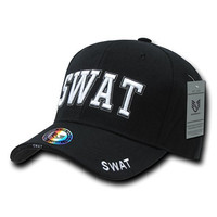 Rapiddominance SWAT DeLuxe Law Enforcement Cap, Black