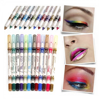 12 Colors M.N. Waterproof Glitter Eyeliner Eyeshadow Lip Pencil
