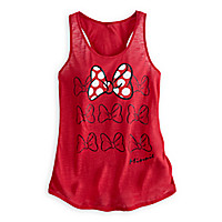 Minnie Mouse Bow Tank Top for Women