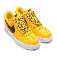 Nike Air Force Yellow&White
