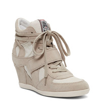 Canvas Bowie Wedge Sneaker