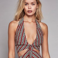 Free People Heat It Up Printed Dress