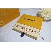 lv louis vuitton woman fashion accessories fine jewelry ring chain necklace earrings 95