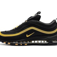 Best Sale Online Nike Air Max 97 Black Gold