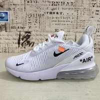 Nike Air Max 270 X OFF-White Running Shoes