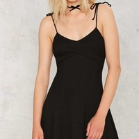 After Party Vintage Kaya Ribbed Dress