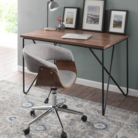 Vintage Mod Office Chair