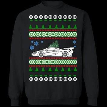 Supercar like Mclaren P1 Ugly Christmas Sweater Sweatshirt