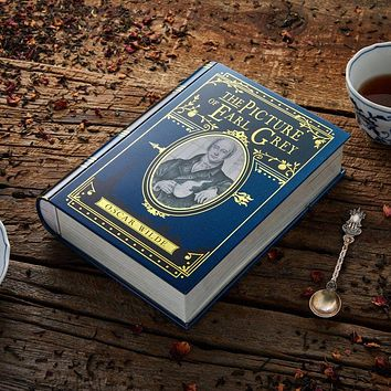 The Picture of Earl Grey Book Shaped Tea Tin