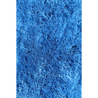LA Rugs Soft Shaggy Collection Blue Area Rug