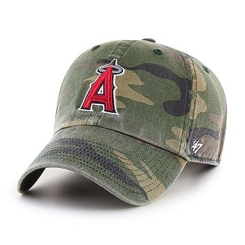 LOS ANGELES Angels CAMO '47 CLEAN UP