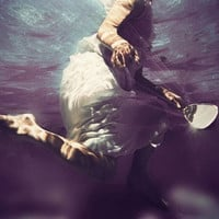 Underwater Photography  Light My Way Surreal by ellemoss on Etsy
