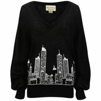 Wildfox Women's It Could Happen Knit - Black Womens Clothing - FREE UK Delivery