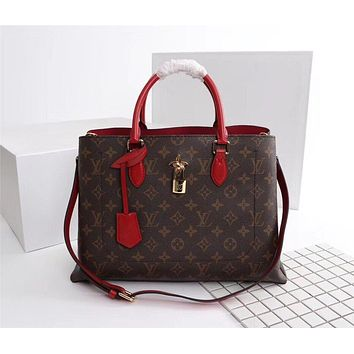 lv louis vuitton women leather shoulder bag satchel tote bags 17