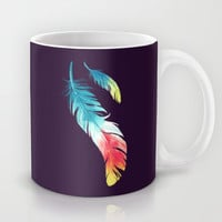 Feather Mug by Freeminds