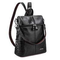 New Multifunction Backpacks Women Fashion Backpack High Quality Bagpack Bucket Bag Woman Travel  computer Bags School Back Pack