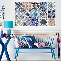 Hidraulic Tiles Stickers (Pack with 45)