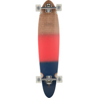 Globe Pinner Classic Longboard - Complete Red/Navy Spray, 40x9