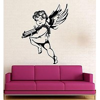 Wall Stickers Vinyl Decal Cupid Love Romance Lovers for Bedroom Unique Gift (ig1773)