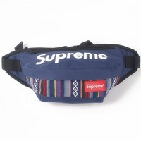 Men's and Women's Supreme Chest Pockets Oxford Casual Riding Bag 013