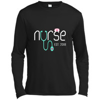 New Nurse Est 2018 T-shirt Nursing School Graduation Gifts