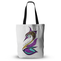 """Pom Graphic Design """"Dreams Swan"""" Everything Tote Bag"""