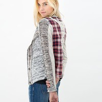 Gimmicks By BKE Snap Front Cardigan Sweater