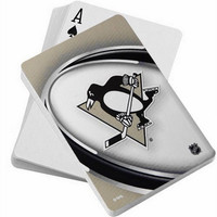 NHL Pittsburgh Penguins Playing Cards
