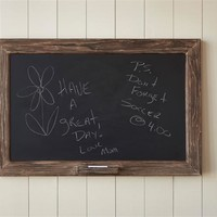 Distressed Wood Chalkboard