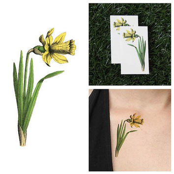 Chivalry Is Not Dead - Temporary Tattoo (Set of 2)