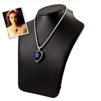 Titanic Necklace - Inspired by Heart of the Ocean