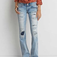 Artist® Flare Jean, Patched And