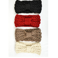 KNIT HEAD WRAP -CLICK TO SEE AVAILABLE COLORS